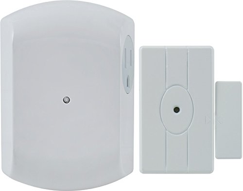 GE 12752 Wireless Door-Entry Light Control Magnet Sensor with 1 Indoor Grounded Outlet Receiver (White) Review