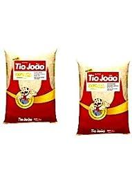 Tio João - Brazilian Long Grain White Rice | 35 OZ (1kg) x[2Pack]