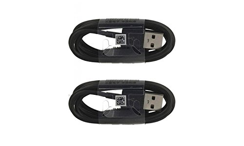 Black EP-DG950CBE Samsung Two USB-C Data Charging Cables for Galaxy S9//S9+//Note 8//S8//S8+