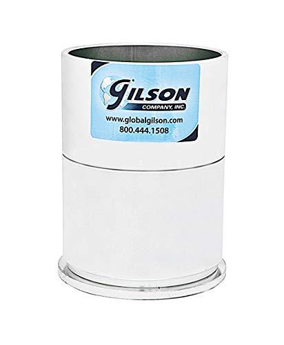 Gilson 4in Marshall Asphalt Compaction Mold Set, Stationary