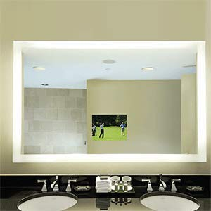 Electric Mirror SIL-4836 Silhouette 48w x 36h Lighted Mirror from -