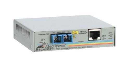 10/100BTX To 100BFX Sc Media Converter Federal by Allied Telesis