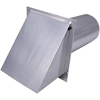 Amazon Com Dryer Wall Vent Aluminum Standard 4 Inch