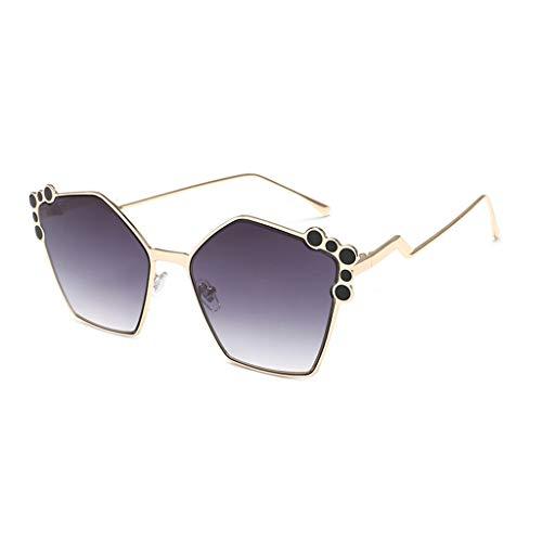 Couleur Lunettes C modèles Rétro soleil de Round personnalité Star Soleil A lunettes Femme Des Sport de élégante New Star xwaX8ZTnf