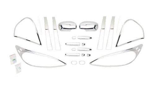 UPC 010536450644, Putco 405064 4-Piece Chrome Accessory Kit