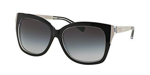 Michael Kors Taormina Sunglasses MK2006 303311 Black Crystal Grey Gradient 57 16 135