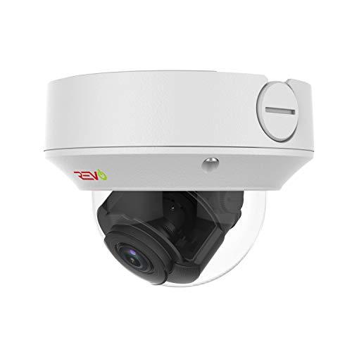 REVO America Ultra 4 Megapixel Night Vision IP Indoor/Outdoor Surveillance Dome Camera, White (RUCVD2810-1C)