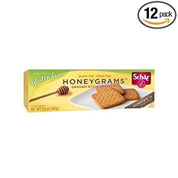 Schar Gluten Free Honeygrams Crackers - 5.6 oz (Pack of 12) by Schar