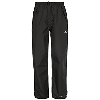 Trespass Womens/Ladies Tutula Waterproof Pants/Trousers (XXS) (Black)