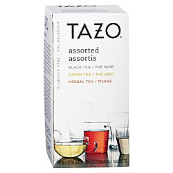 Tazo 153966 Assorted Black & Green Teas and Herbal Infusions (24 (Starbucks Decaffeinated Tea)