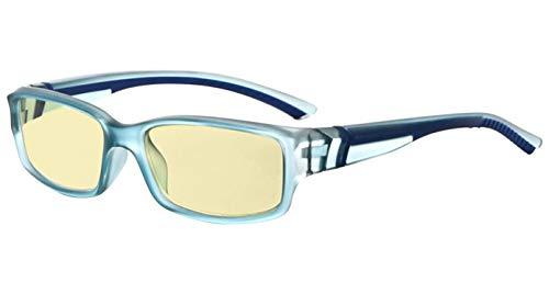 Eyekepper Blue Light Blocking Glasses for Men Women Reading Computer Screen Cut Screen Digital Glare Yellow Filter - Blue