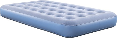 Simmons BeautySleep Smart Inflatable Mattress Low-Profile Air Bed with External Pump Twin