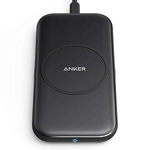 Anker PowerWave Base Pad ワイヤレス充電器 Qi認証 iPhone 12 / 12 Pro Galaxy 各種対応 最大10W出力 (ブラック)