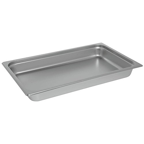 HUBERT Full Size Steam Table Pan 24 Gauge Stainless Steel - 2 1/2 D by Hubert