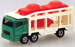 三菱 スーパーグレートキャリアカー(グリーン×ホワイト) 「トミカ No.14」の商品画像