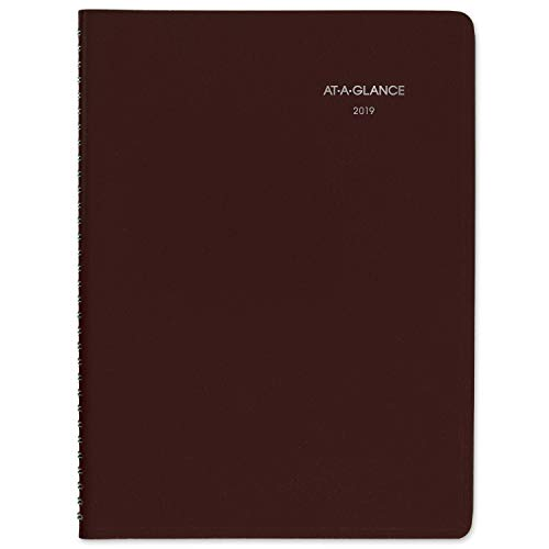 - AT-A-GLANCE 2019 Weekly Appointment Book / Planner, DayMinder, 8