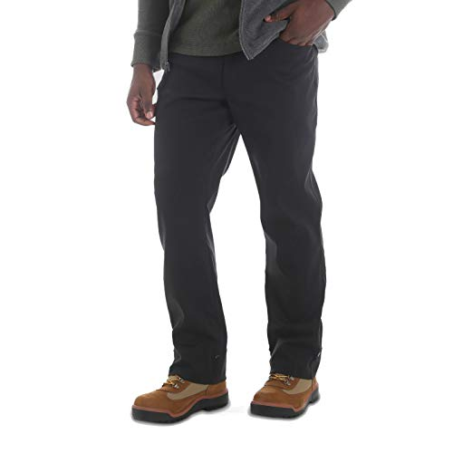 Wrangler Men's Outdoor Stretch Nylon Utility Pants Black (34 X 30)