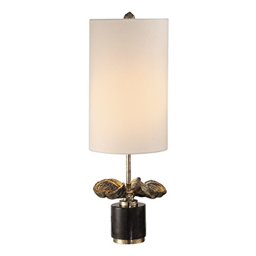 - Uttermost Sterculia Antique Gold Champagne Buffet Table Lamp