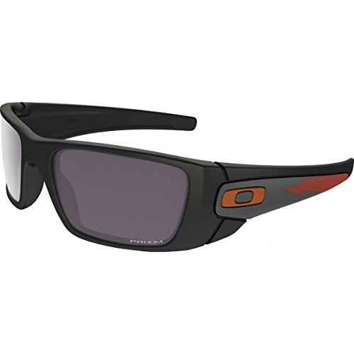 Oakley Mens Fuel Cell Polarized Sunglasses, Matte Black/Prizm Daily, One - Sunglasses Oakley Fuel Polarized Cell