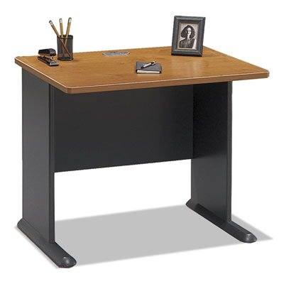 "36""W Desk Series A Natural Cherry by BUSH INDUSTRIES (Catalog Category: Furniture & Accessories / Desks / Wood)"