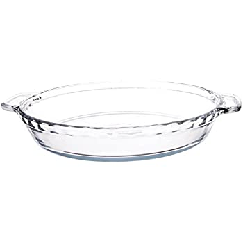 Anchor Hocking, Pie Plate Rippled Edge Clear