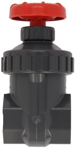 Spears PVC Gate Valve, Non-Rising Stem, Buna-N O-Ring, 3/4'' Socket by Spears Manufacturing (Image #2)