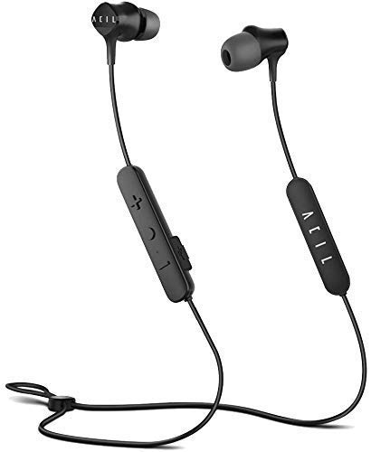 Bluetooth Sports Headphones– ACIL Wireless Earbuds with Strap, Magnetic Earphones, Noise Cancelling, HiFi Balanced…