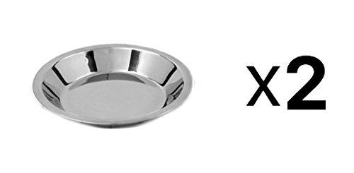 Norpro Stainless Steel Pie Pan 9