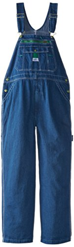 Liberty Men's Stonewashed Denim Bib Overall, Stone Washed, 44/30 ()