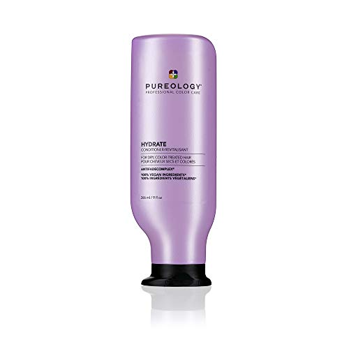 Pureology Hydrate Conditioner   For Dry, Color-Treated Hair   Moisturizes Hair & Protects Color   Sulfate-Free   Vegan