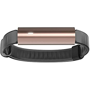 Misfit Ray - Fitness + Sleep Tracker with Black Sport Band (Rose Gold)