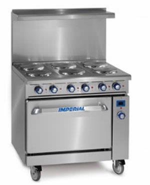 Imperial IR-6-E Electric Restaurant Range 36