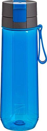 Trudeau Maison DNA Water Bottle, 26 oz, Cobalt Blue