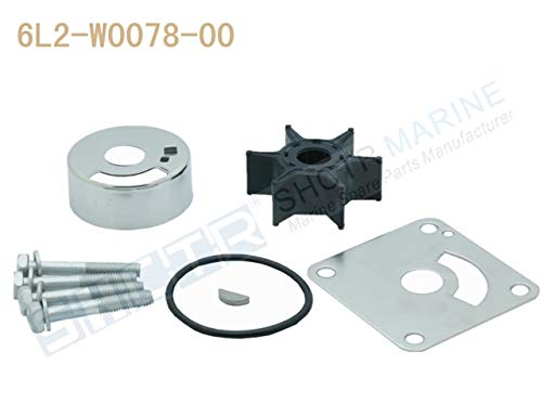 - Ignar Boat Engine SHCTR Water Pump & Impeller Kit for OEM 6AH-W0078-00,15/20HP