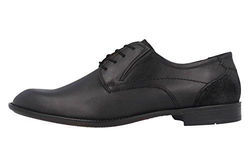 FRETZ MEN - Umbro - Herren Business Schuhe - Schwarz Schuhe in Übergrößen