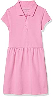 Amazon Essentials Big Girls' Short-Sleeve Polo D