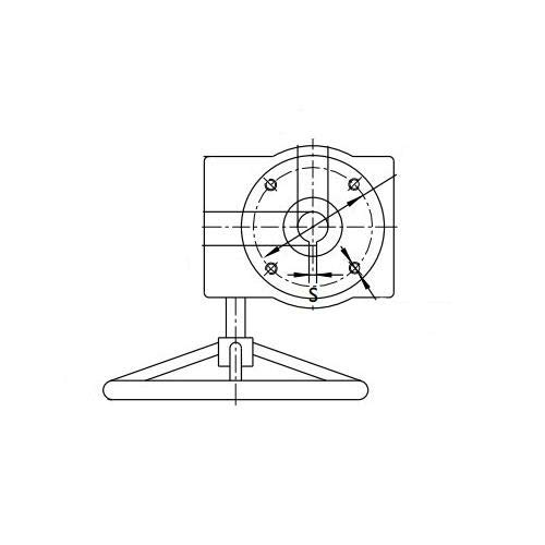 Buna-N Seat Titan 8.0 BF76-DI-R-B-B-G Butterfly Valve Gear 8 Ductile Iron Lug