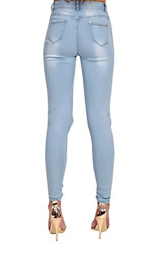 Cassidy Denim Jeans La Arrancó Flaco Rodilla Ikrush Womens 5wq4f40
