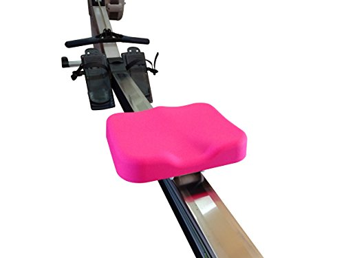 Rowing Machine Seat Cover by Vapor Fitness designed for Concept 2 Rowing Machine (Pink)