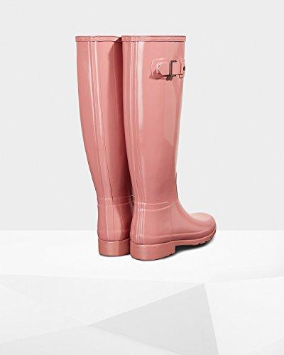 Donna Da Cacciatore Originale Raffinata Pioggia Stivali Da Pioggia Rosa Pallido