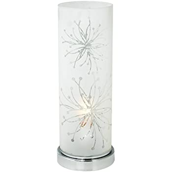 Frosted Glass Cylinder 14 1/4u0026quot; High Accent Table Lamp
