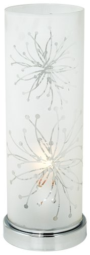 Frosted Glass Cylinder 14 1/4