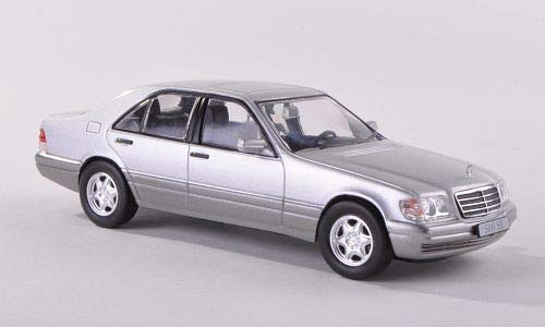 Mercedes 500 SE (W140), Silver, 1991, Model Car,, SpecialC.-16 for sale  Delivered anywhere in USA
