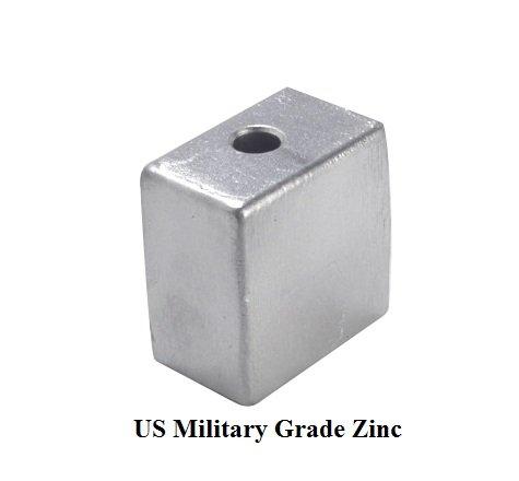 - 436745 Johnson Evinrude Gearcase Zinc Anode (393023) BRP