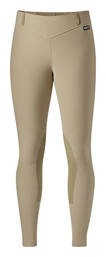 - Kerrits Microcord Knee Patch Breech M Tan