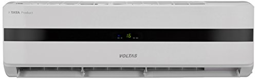 Voltas 1.4 Ton 5 Star (2017) Split AC (Aluminium, SAC 175 IY, White/Black)