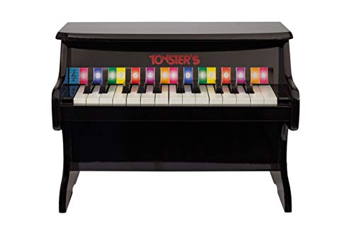 - Toysters Toddler Piano Keyboard Toy | Fun Educational Learning Toys | Wonderful Kids Birthday Gift | Musical Toy with 25 Keys and Colorful Song Book | Help Children Discover Their Love of Music MU935