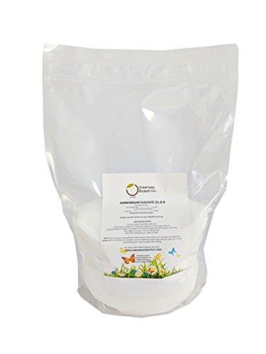 Ammonium Sulfate 21-0-0 FertilizerGreenway Biotech Brand 10 Pounds