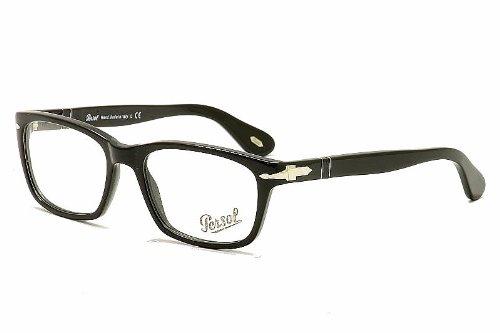 Persol PO2450V Eyeglasses 50-20-145 Gunmetal w//Demo Clear Lens 1077 PO 2450V PO 2450-V PO2450-V