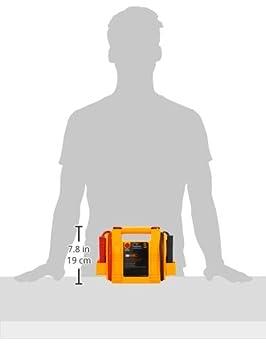 Heavy Duty 400 Amp Rechargeable RAC Jump Starter Orange//red